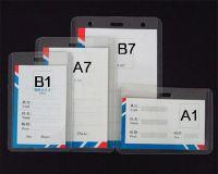 ID card badge holder Exhibition elevator leather
