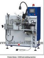 Automatic circular saw blade brazing/welding machine