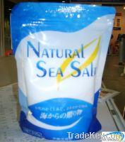 sea salt, refined vacuum salt
