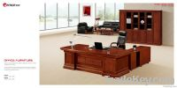 high quality and cheap price veneer desk&cabinet