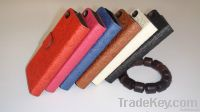 Competitive price! leather case for samsung series and iphone4, 5