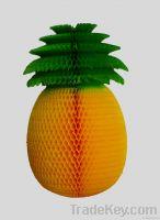 Honeycomb Pineapple Decoration