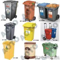 Aoto Plastic Waste Bin / Trash Can / Dust Bin