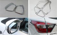 Chrome Side Mirror Covers / Mirror Rainproof Cover / Tail Light Covers for Ford Kuga 2017
