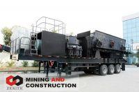 mobile crushing plate,mobile impact crushing plant