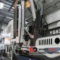 track mounted crushers