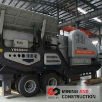 Mobile stone mining machines