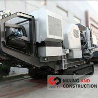 heavy equipment, Zenith tracked mobile crusher