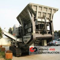 movable iron ore crusher