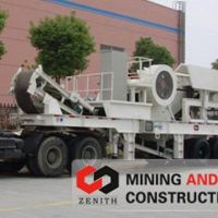 mobile plant cone crusher