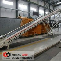sand and gravel conveyor