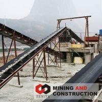 aggregates belt conveyor,flat belt conveyer, rubber conveyor