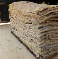 Donkey and wet salted cow hides available