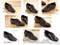Wholesale black leather shoes modern shoes jazz shoes