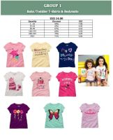 Baby, Toddler and Kids T-Shirts and Bodysuits