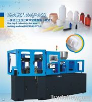SZCX160/45X one step 3 station injection & blow molding machine