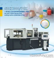 SZCX300/70Xone step 3 station injection & blow molding machine