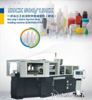 SZCX500/135Xone step 3 station injection & blow molding machine