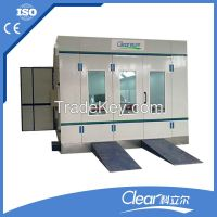 Clear hot selling car spray painting booth HX-600