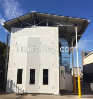 semi-trailer spray booth paint oven HX-1000