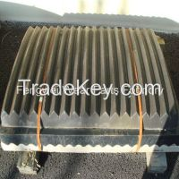 High Manganese Steel Jaw Crusher Plate Wear Parts