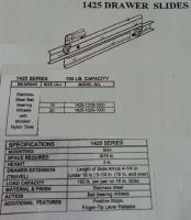 Drawer Slide (Stainless Steel)