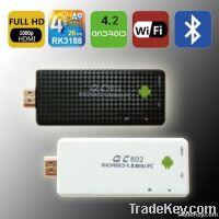 Hot Mini PC Andriod 4.2+2GB/16GB+Quad-Core Rk3188+HDMI Output (TV) +3D