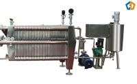 Plate and frame diatomite filter machine