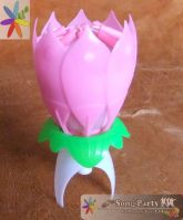 Flower Music Candles