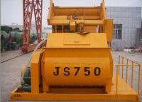 Bona twin shafts concrete mixer JS750