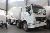 concrete mixer truck Bona 8m3 6*4 HOWO chassis concrete mixer truck