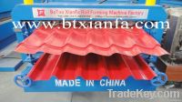 Double Glazed Tile And IBR Color Metal Roof Sheet Forming Machine