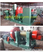 two roll rubber open mixing mill machine/open mill rubber mixing machi