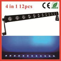 12x10w Led Flood Light Bar Stage Lights / RGBW Led Stage Bar