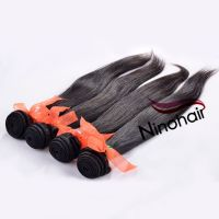 Peruvian Virgin Remy Hair silky straight Natural Color 12-30 Inch 100G Per Bundle 100% Unprocessed Human Hair Products