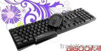 2.4G wireless keyboard combo -  hot selling
