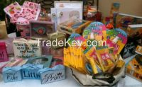 Excess inventory of children gifts and products