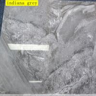 600x600mm indiana grey polished porcelain marble tiles
