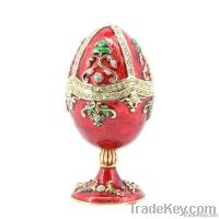 2013 new design easter egg shaped jewelry box(QF3388)