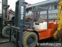 Used komatsu 10t Forklift, Original Japan