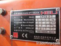 Used Heli Forklift, Used 5t Forklift