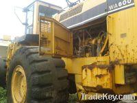 Used Komatsu Wheel Loader, WA600-1