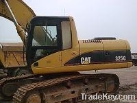 Used CAT 325C crawler excavator for sale