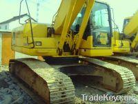 Used Komatsu PC210-7 Excavator, Original