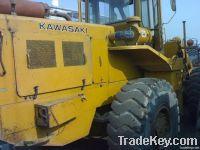 Used Kawasaki Wheel Loader, 80Z