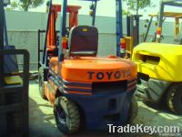 Second hand Toyota 3t Forklift