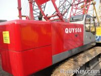 Used Fushun Crawler Crane, Good Crane