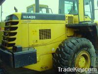 Used Komatsu Loader, WA420-3