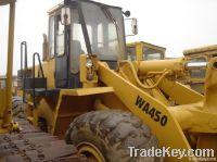 Used Wheel Loader, Komatsu WA450