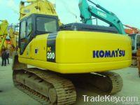Second hand Komatsu Excavator, PC200-7